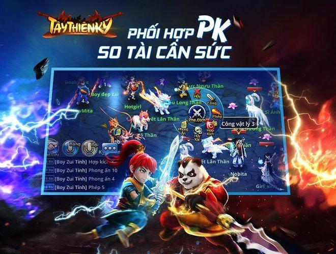 Chơi Tây Thiên Ký on PC 9