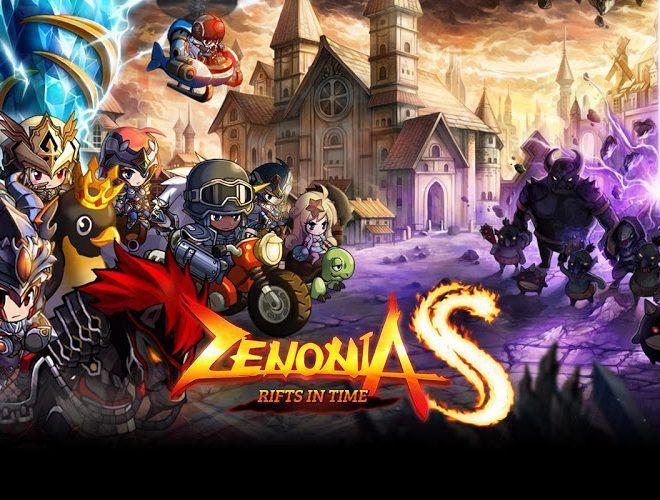 เล่น ZENONIA S: รอยแยกแห่งกาลเวลา on PC 6