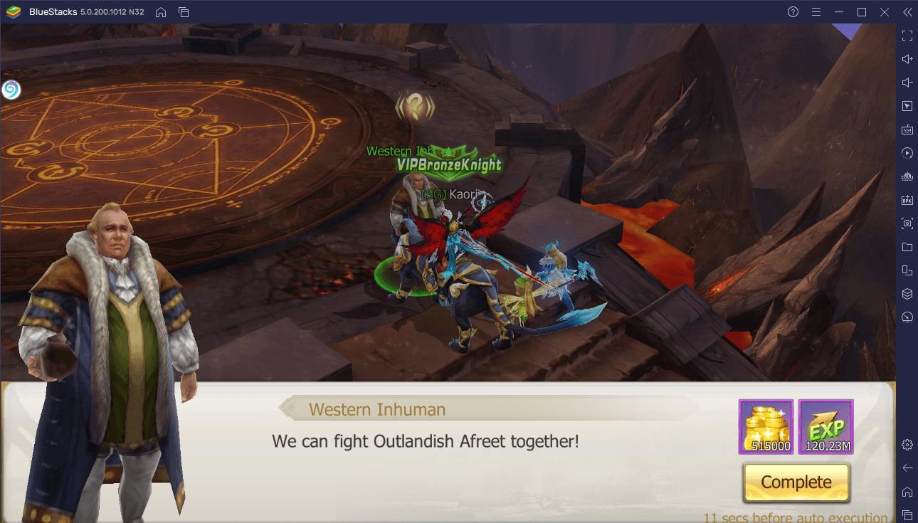 Wie du Rebirth of Chaos: Eternal Saga mit BlueStacks auf deinem PC spielst