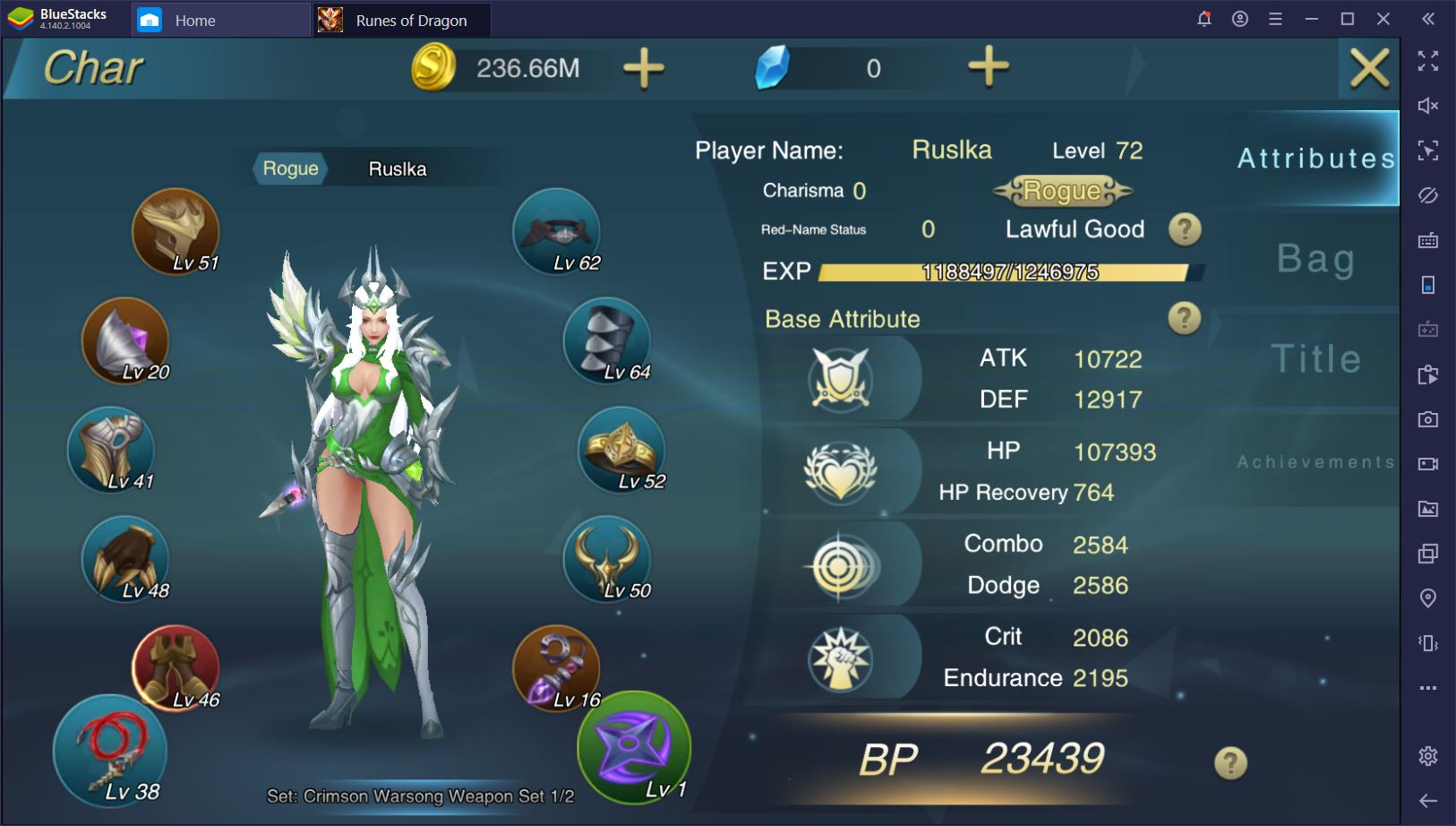 Runes of Dragon on PC: How to Quickly Boost Your Character's BP