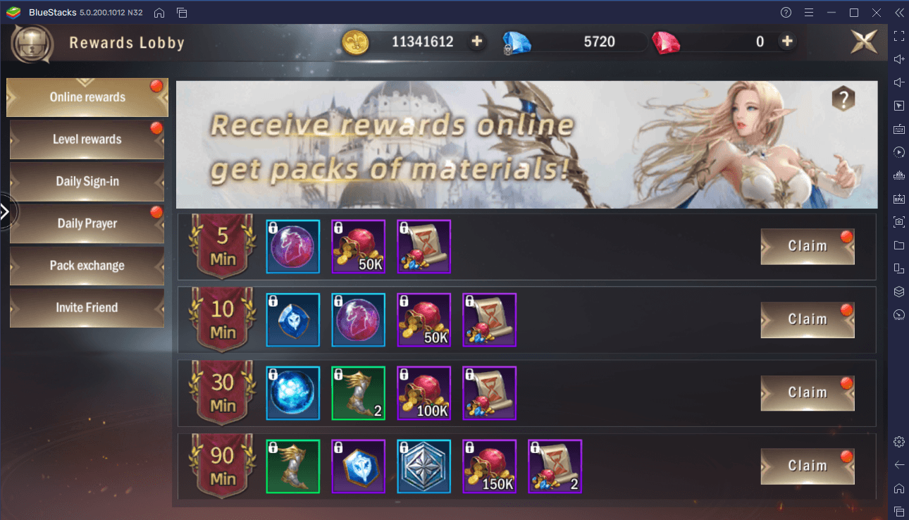 How to Get More EXP, Gold, and Equipment in Rage of Dragons