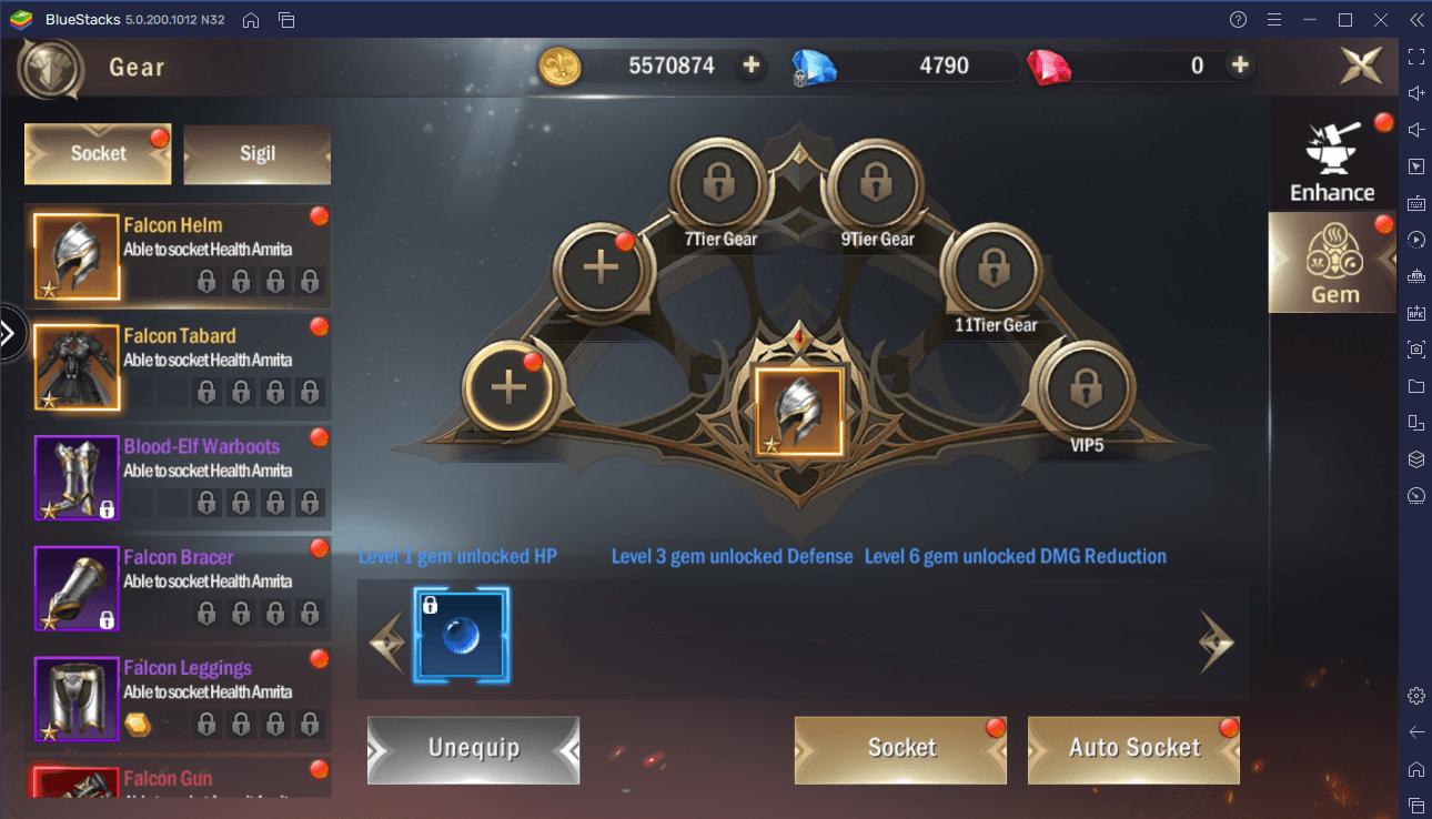 Der BlueStacks-Leitfaden zum Upgraden deines Charakters in Rage of Dragons