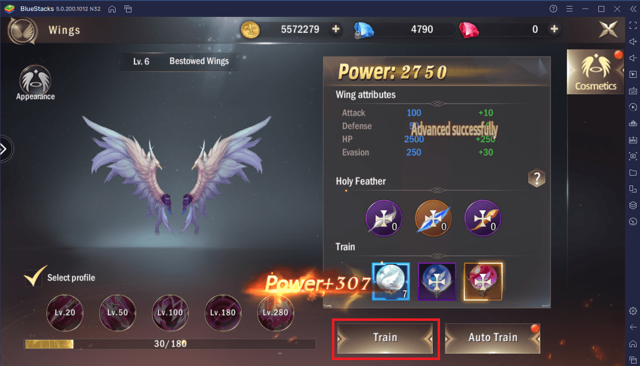 The BlueStacks Guide to Upgrading Your Character in Rage of Dragons