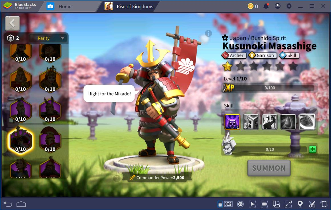 Rise of Kingdoms on PC– Guide to Epic Commanders
