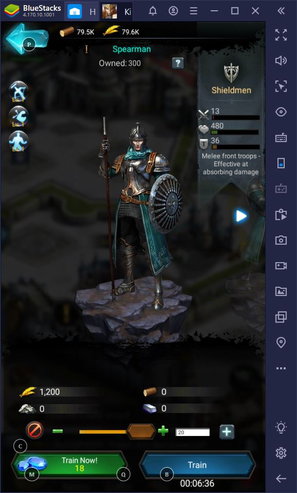 How to Play Rise of the Kings on BlueStacks