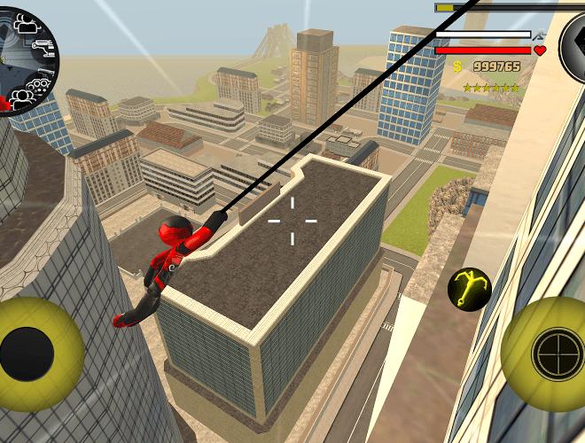 Play Stickman Rope Hero on PC 6