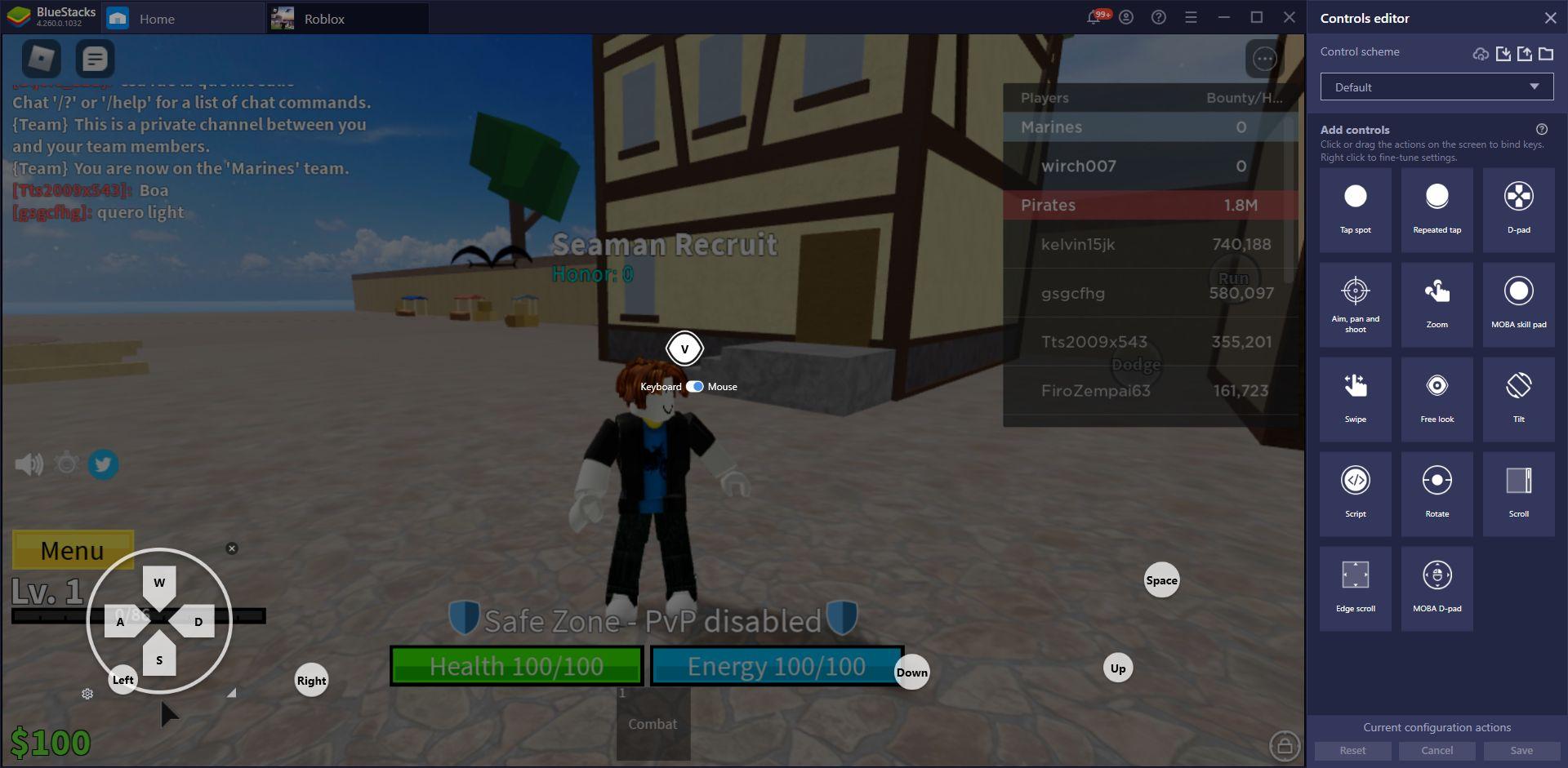 Roblox na komputerze – jak używać narzędzi BlueStacks w robloxowych grach