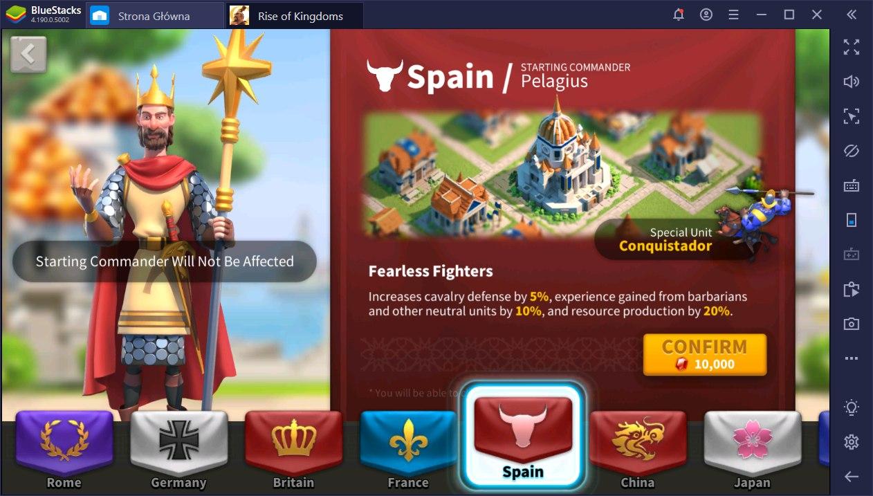 Rise of Kingdoms poradnik dowódców