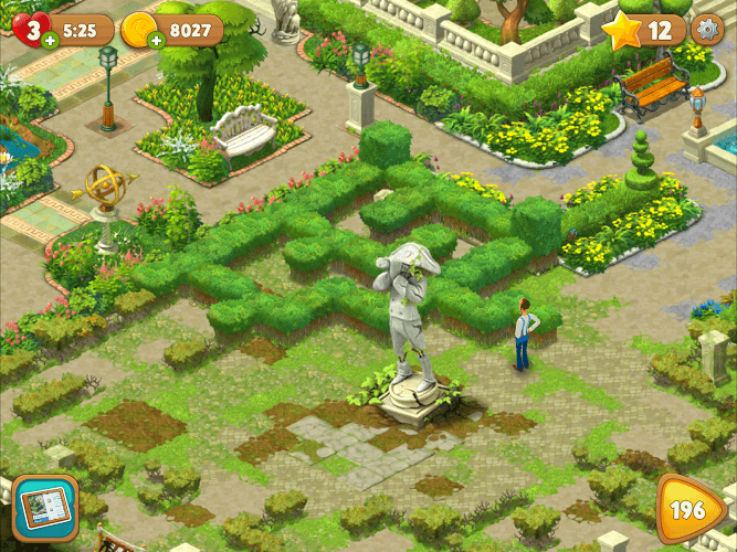 Delightful ... Play Gardenscapes On PC 14 ...