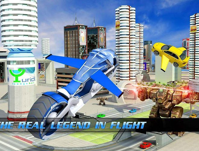 Play Flying Bike – Transformer Robot on PC 16