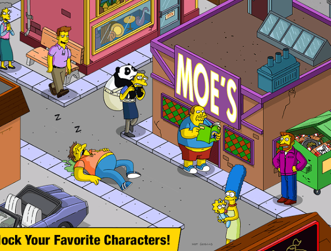 Spustit Simpsons Tapped Out on PC 3
