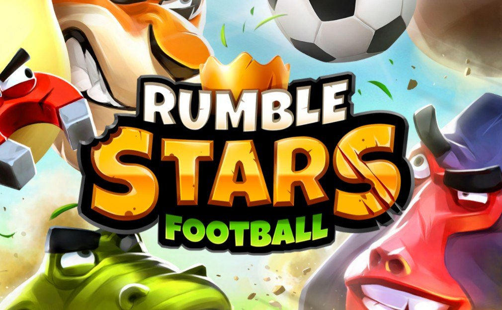 Jogando uma partida de Futebol Rumble com BlueStacks