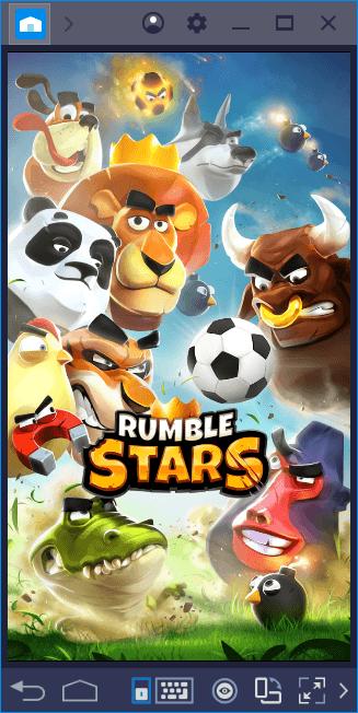 Futebol Rumble Stars: Personagens engraçados, jogos seríssimos