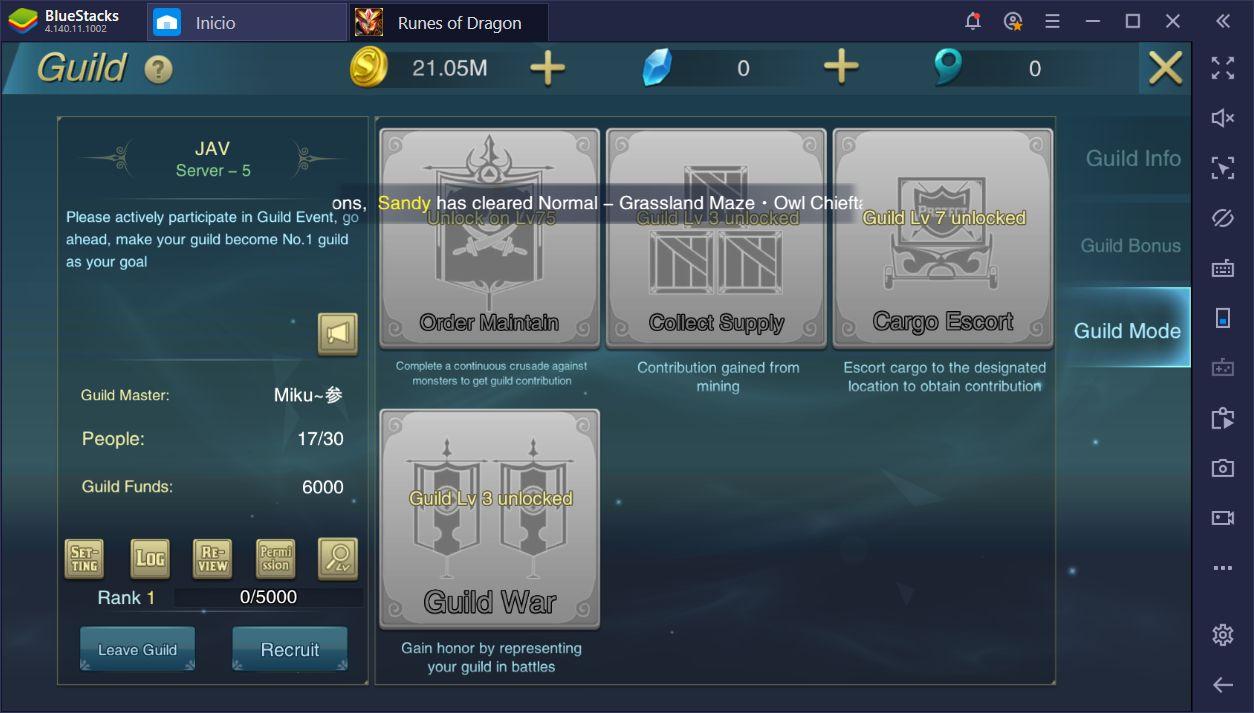 Runes of Dragon en PC: 10 Trucos y Consejos para Principiantes