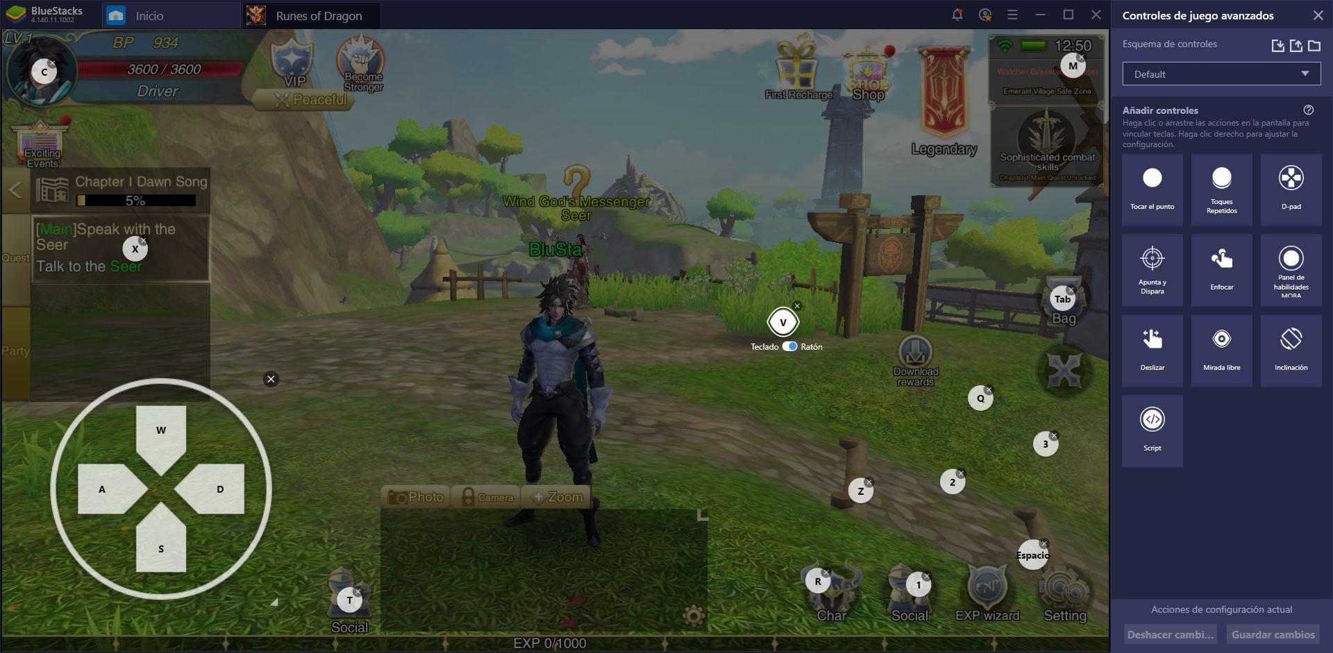 Cómo Jugar Runes of Dragon en tu PC con BlueStacks