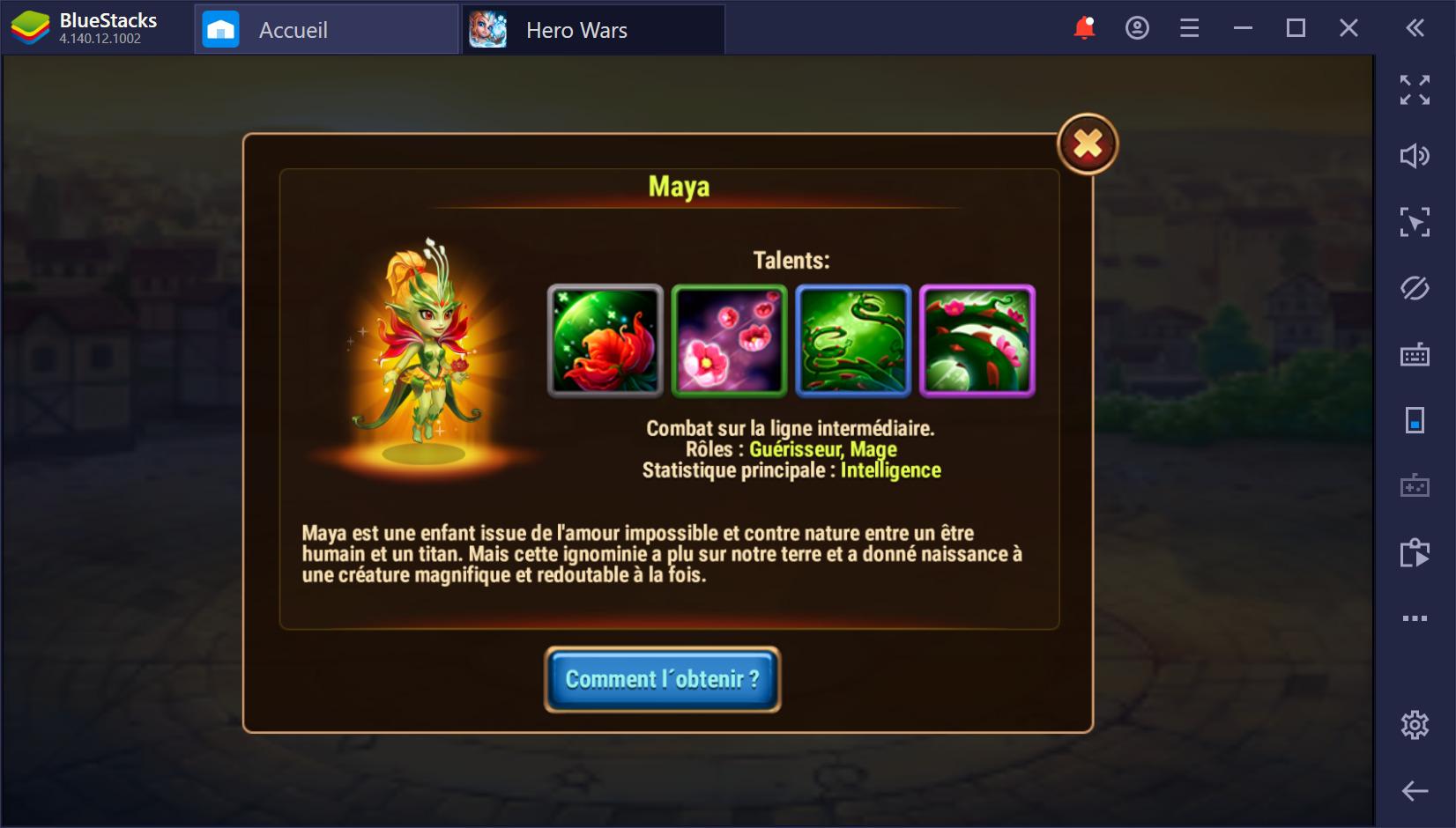 Sélectionnez les meilleurs héros et utilisez tout leur potentiel dans Hero War sur PC