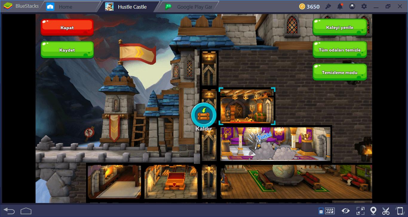 Hustle Castle – Kale ve Klan: Kale Odaları Rehberi