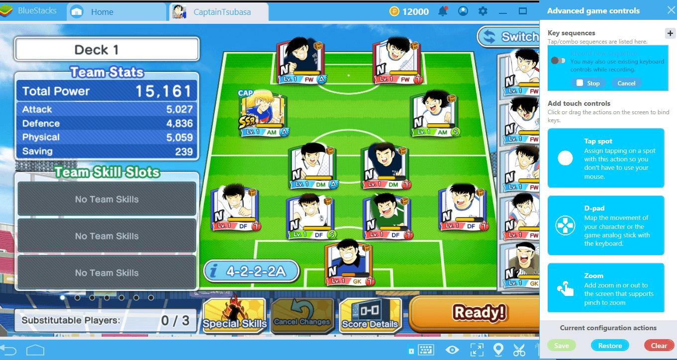 Captain Tsubasa: Bring die Kombi-Taste auf's Spielfeld
