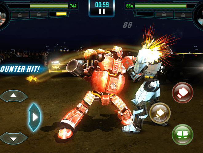 Играй Real Steel World Robot Boxing on pc 13