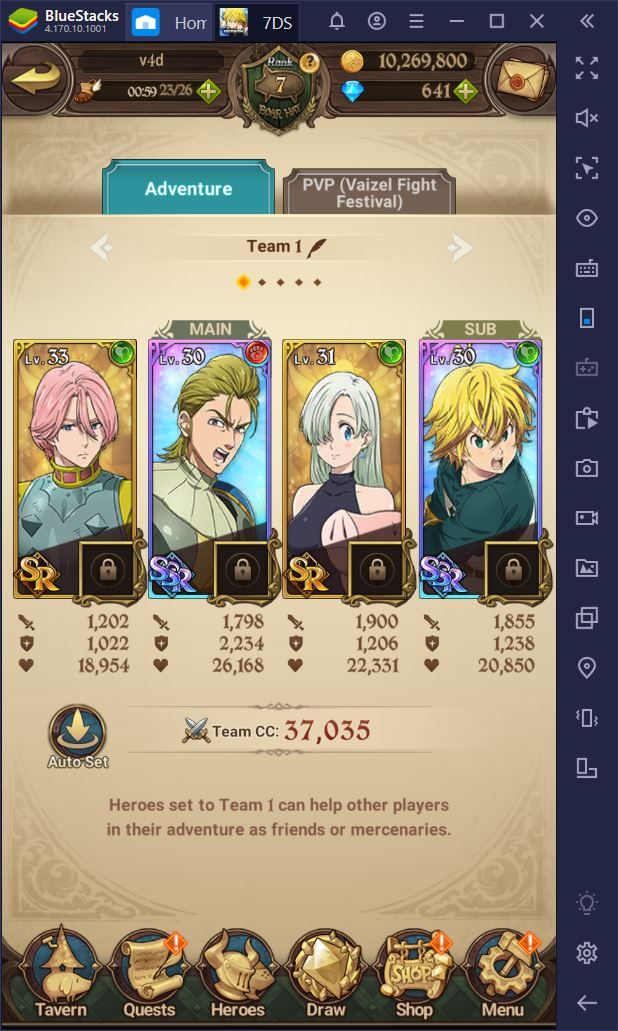 The Seven Deadly Sins: Grand Cross on PC – How to Increase Your CC