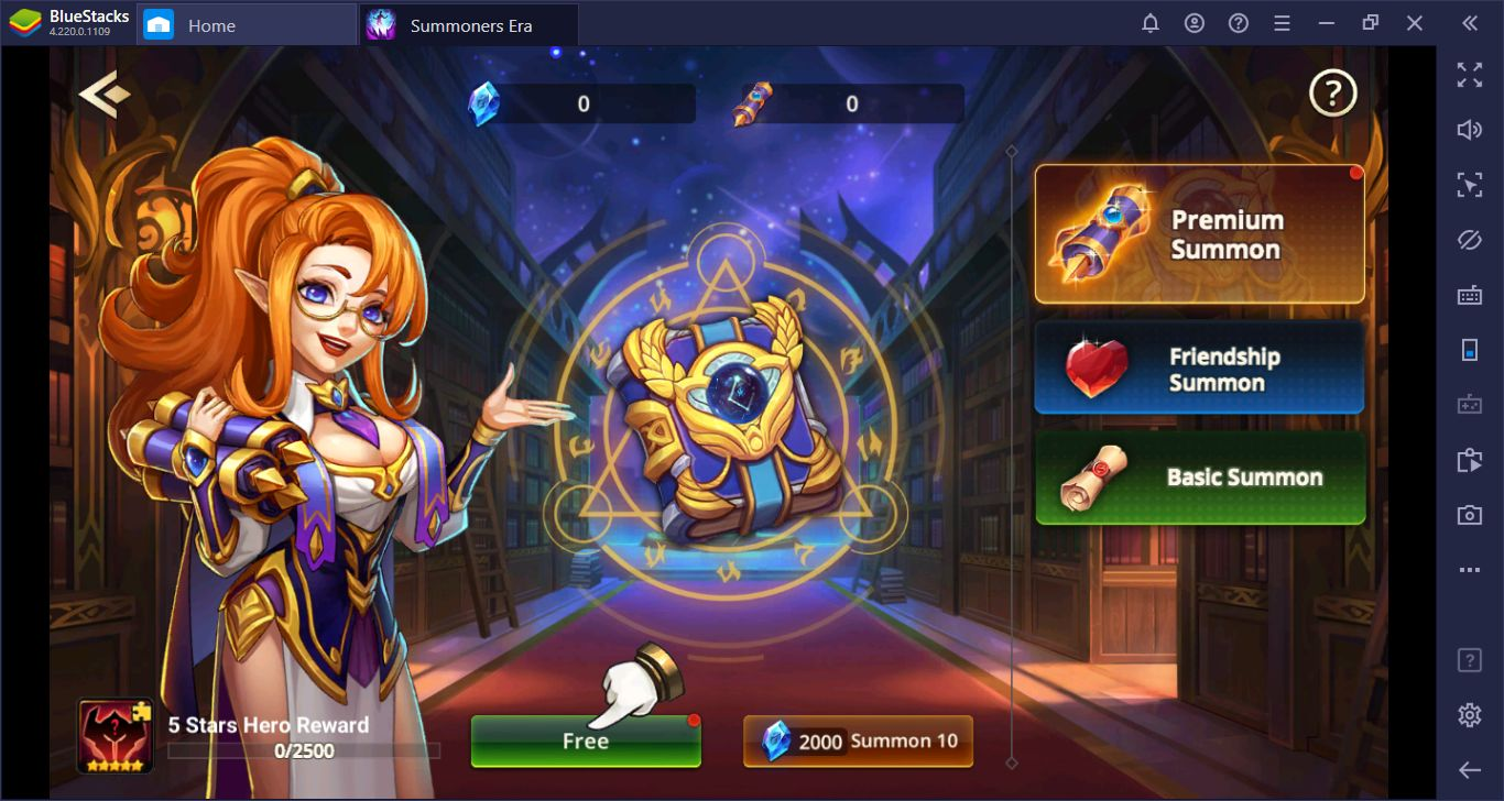 Setup And Reroll Guide For Summoners Era: Arena Of Heroes