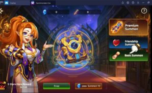 "Summoners Era: Arena Of Heroes – The ""Hero Summon"" Machine"