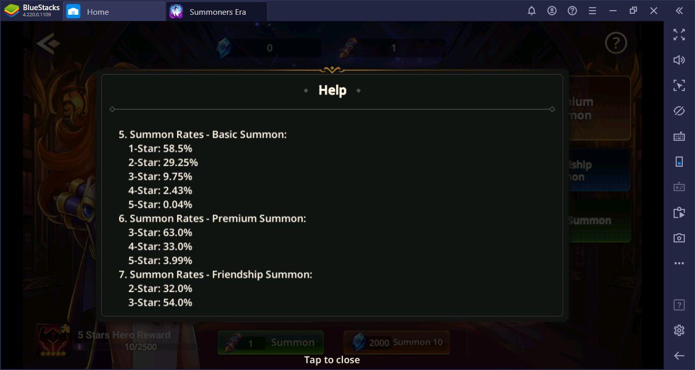 """Summoners Era: Arena Of Heroes – The """"Hero Summon"""" Machine"""