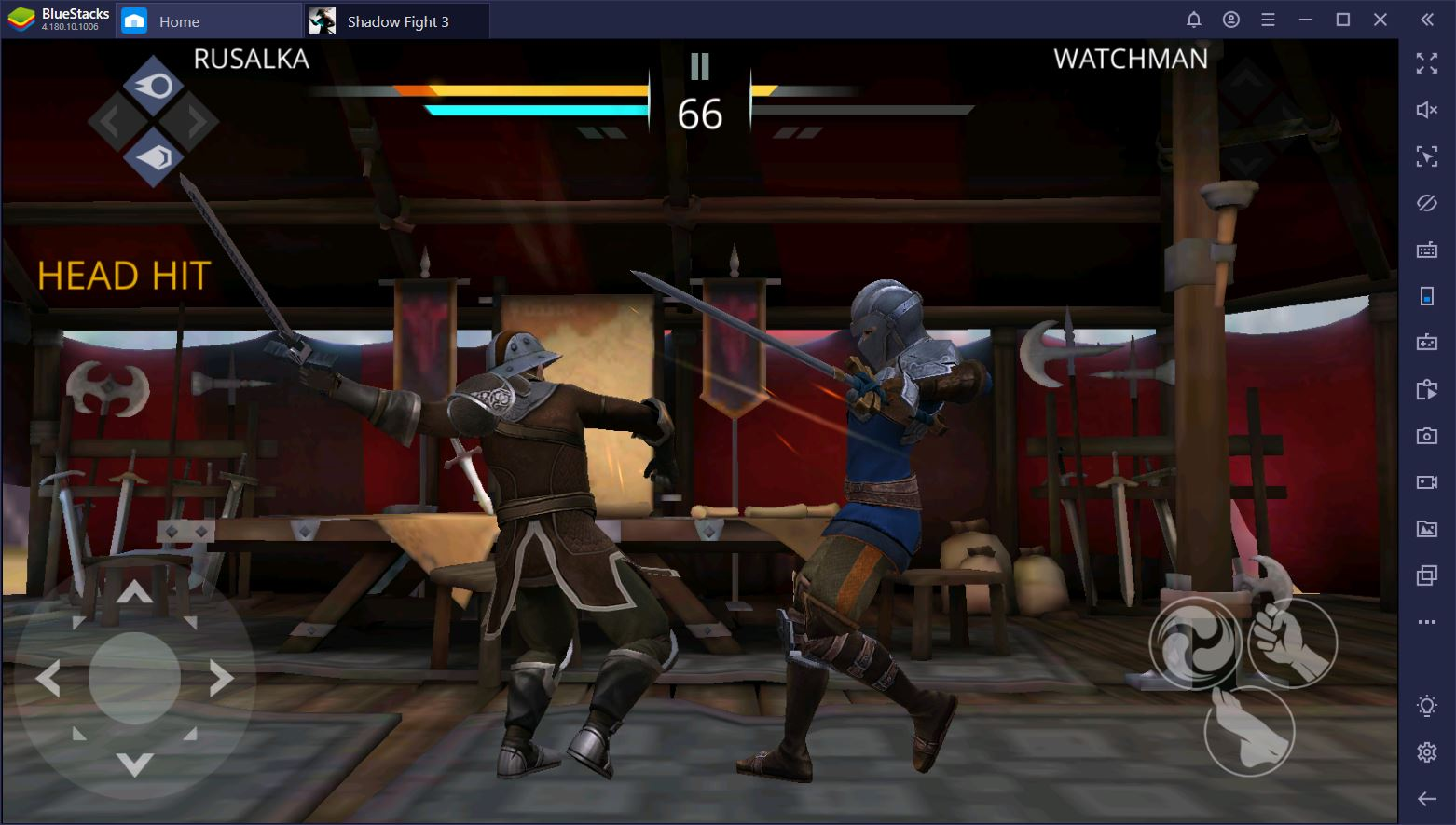 How to Play Shadow Fight 3 on PC with BlueStacks