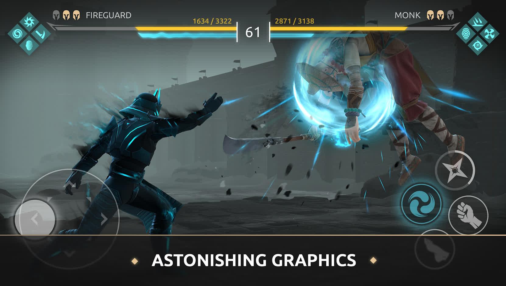 Состоялся пробный запуск файтинга Shadow Fight Arena