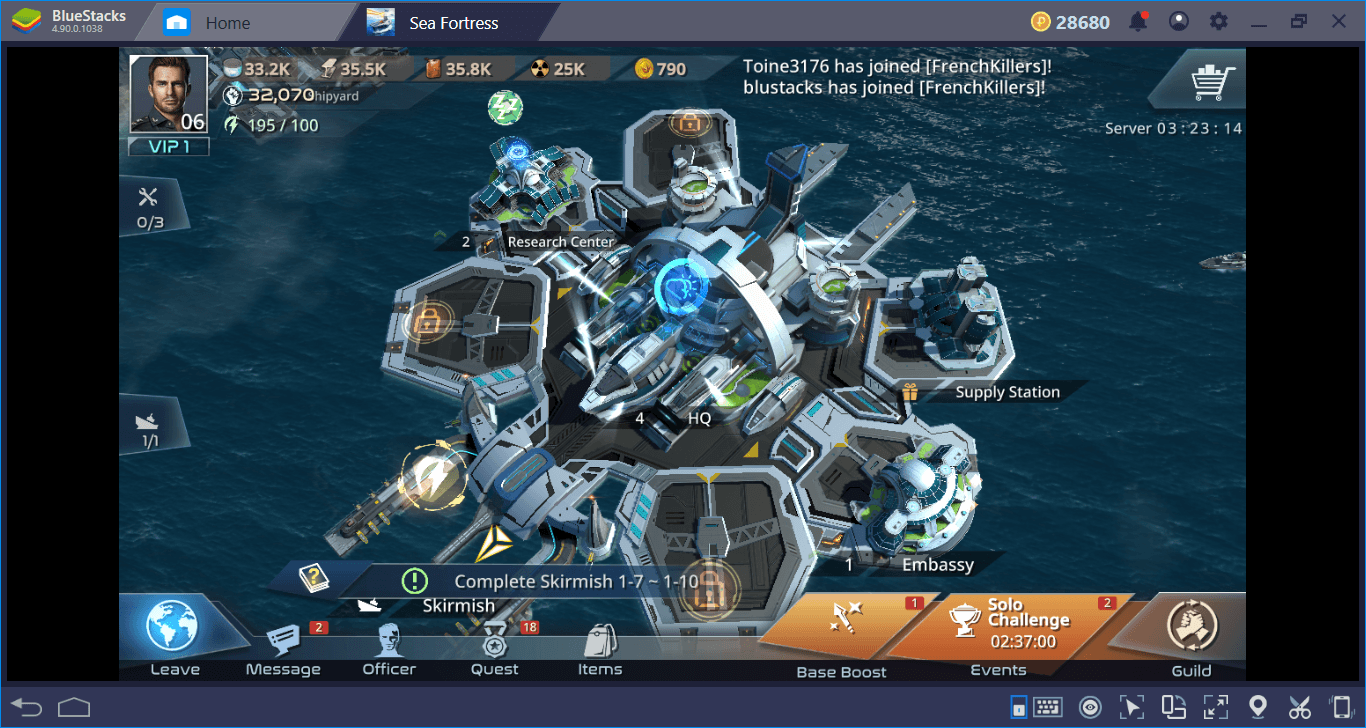 Construct A Sea Fortress, Save The World From Aliens (And Other