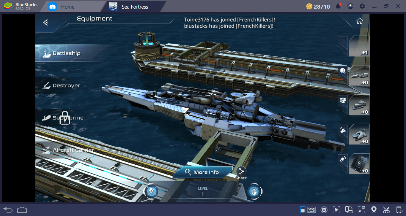 Construct A Sea Fortress, Save The World From Aliens (And