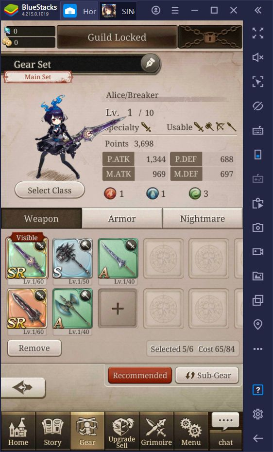 SINoALICE Beginner's Guide - How to Get Started in the Global Release