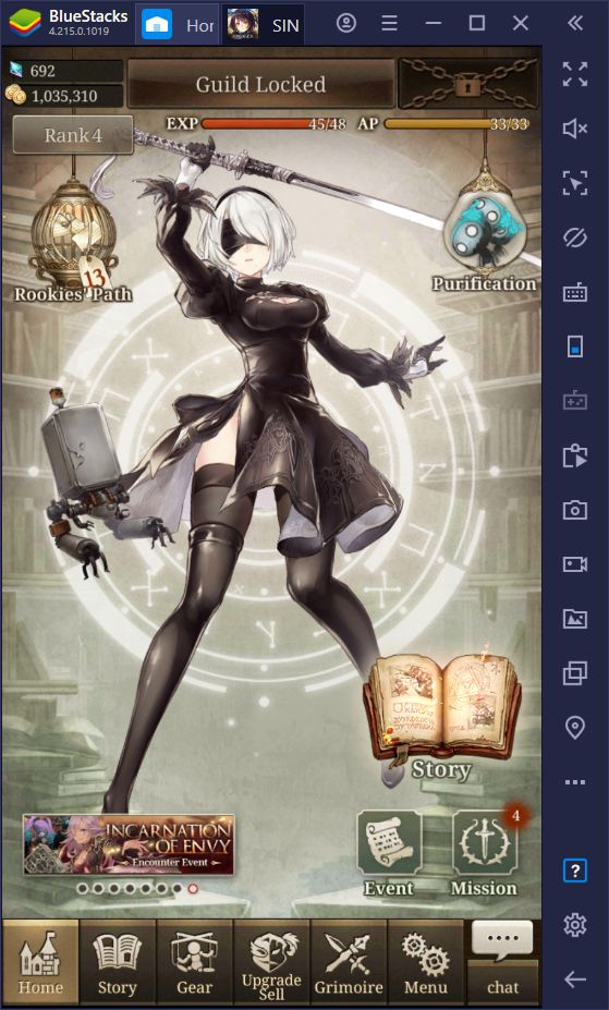 "SINoALICE Global - A Guide on the NieR:Automata Collaboration Events ""Memory of Dolls"" and ""The Puppet's Feast"""