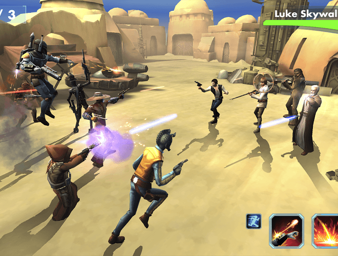 Играй Star Wars™: Galaxy of Heroes on pc 16