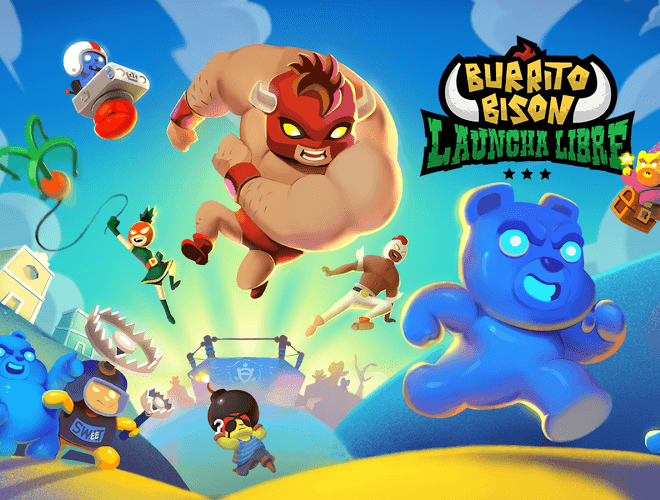 Играй Burrito Bison: Launcha Libre На ПК 3