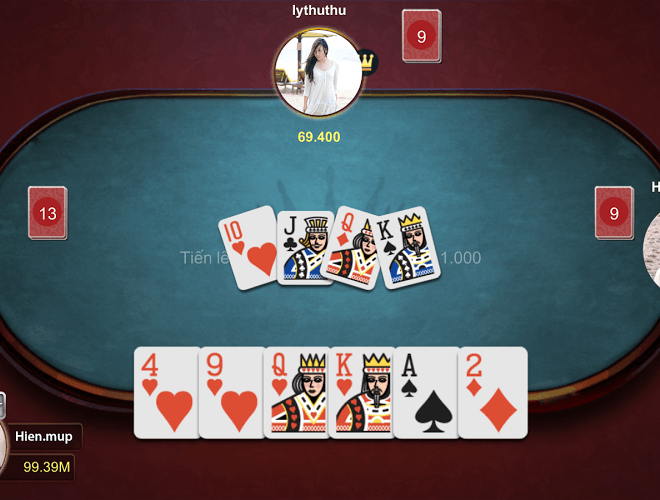Chơi Game bai Online – Vua danh bai on PC 3