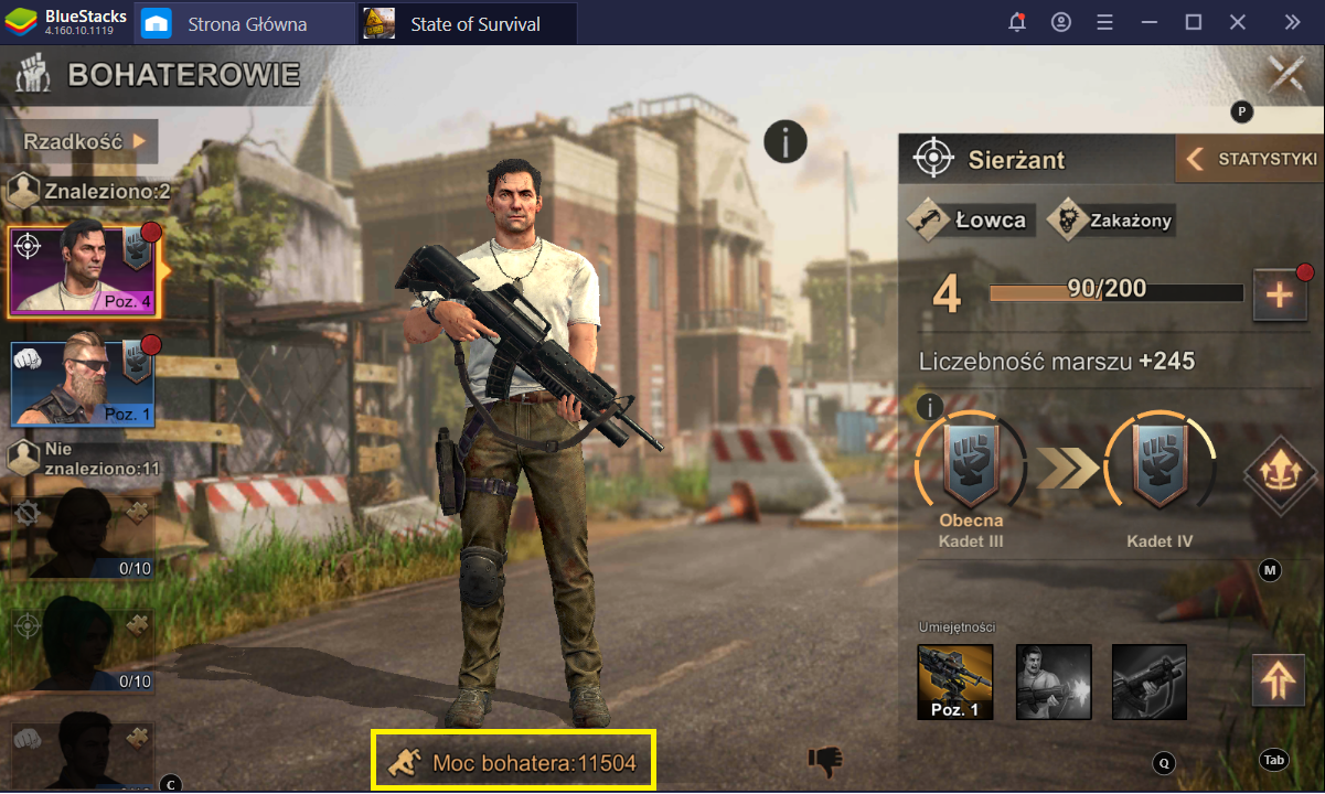 State of Survival na PC: Jak szybko podnieść swoją siłę bojową