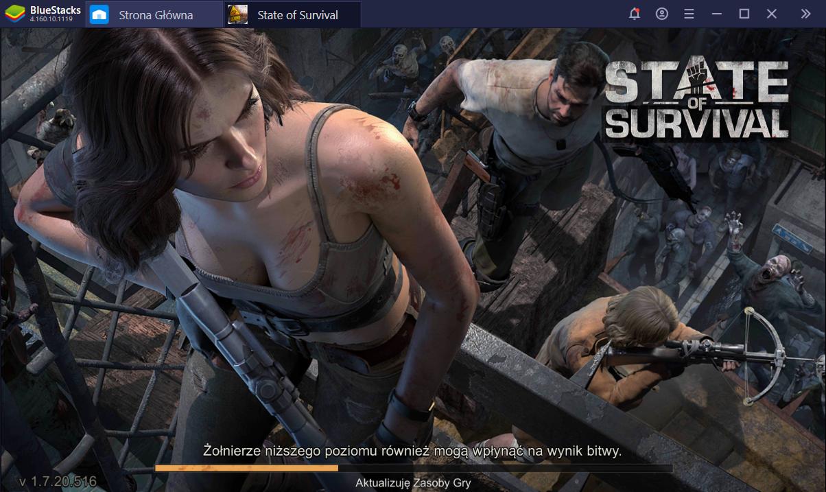 Poradnik początkującego dla State of Survival na PC