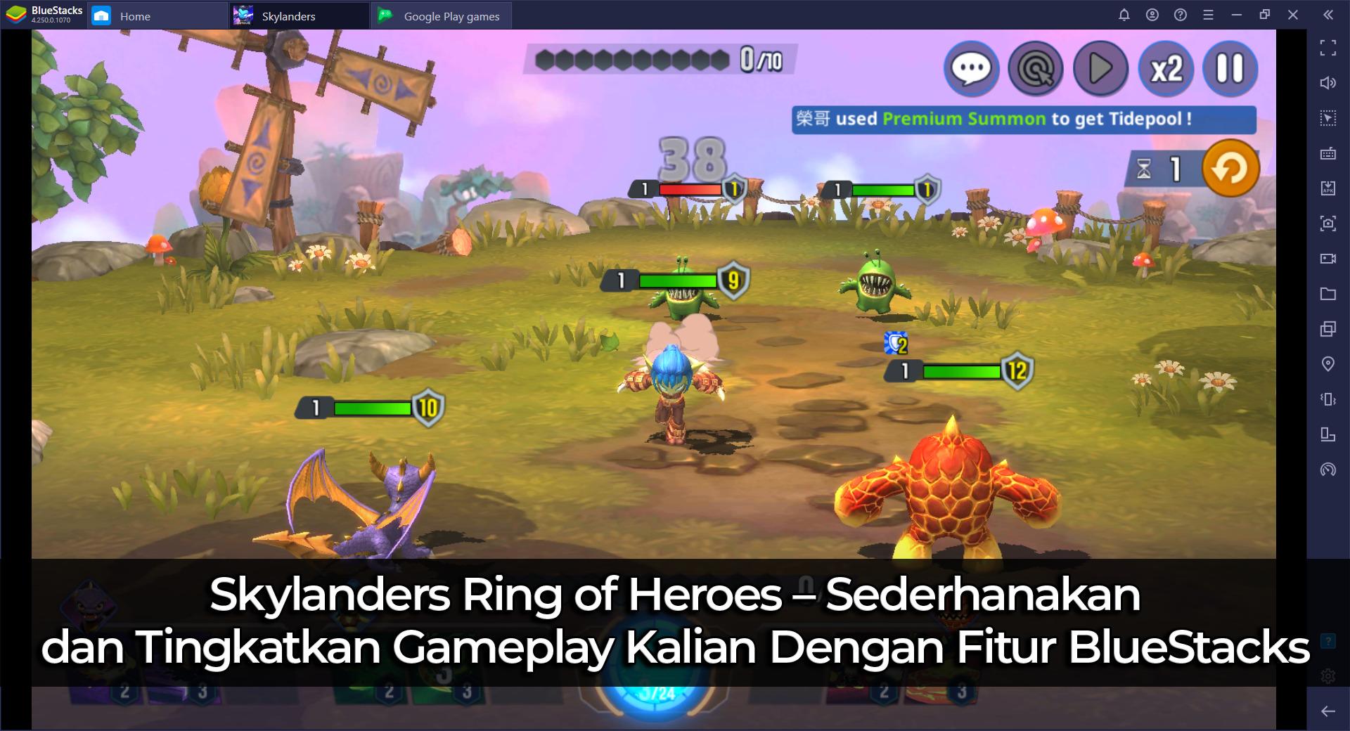 Skylanders Ring of Heroes – Sederhanakan dan Tingkatkan Gameplay Kalian Dengan Fitur BlueStacks