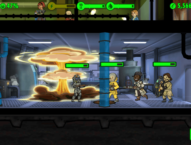 เล่น Fallout Shelter on pc 16