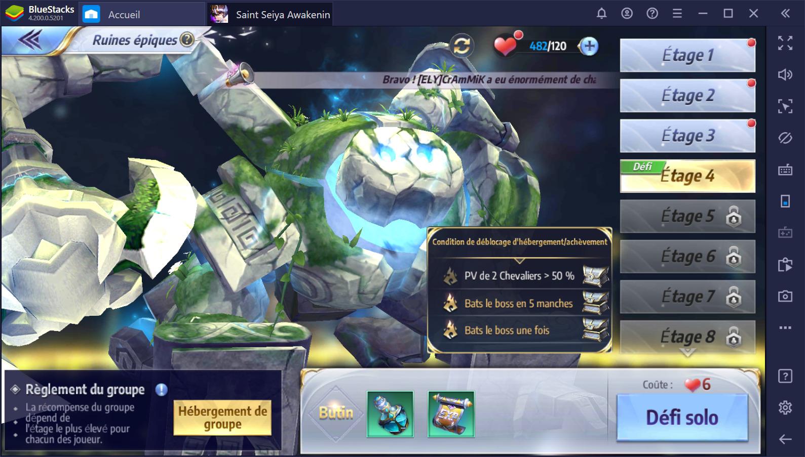 Guide sur le farming pour Saint Seiya Awakening