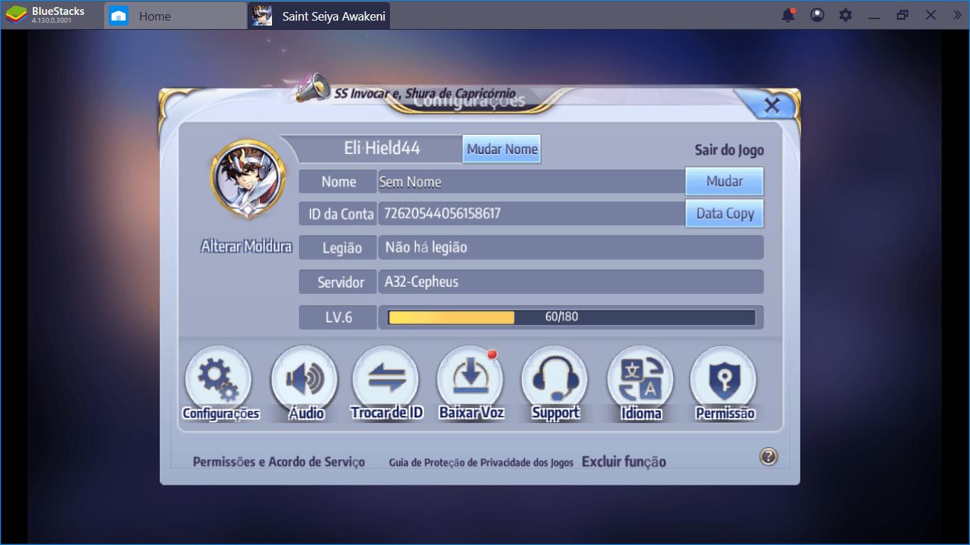 Saint Seiya Awakening: Como Fazer Reroll e Pegar os Melhores Personagens