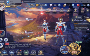 Saint Seiya Awakening: Knights of the Zodiac Como Jogar no BlueStacks