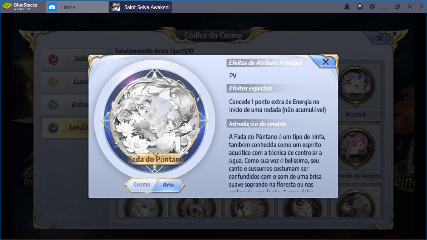 Saint Seiya Awakening Configurações de Cosmos para os Melhores Cavaleiros e suas Skills Essenciais