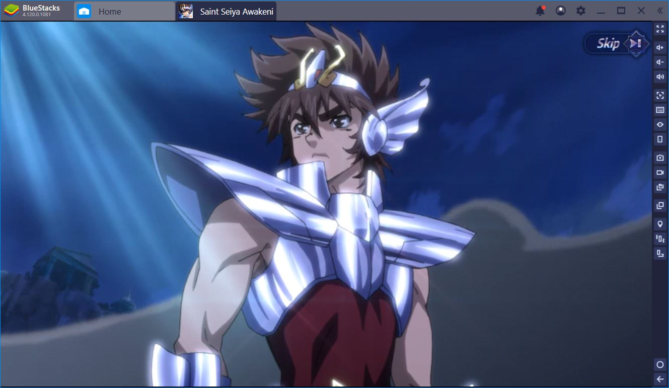 Saint Seiya Awakening: How to Play on BlueStacks