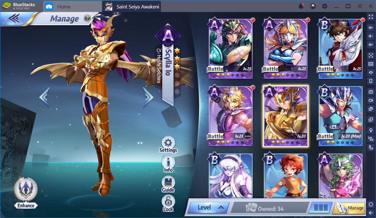 Saint Seiya Awakening: How to Re-Roll for the Best Characters