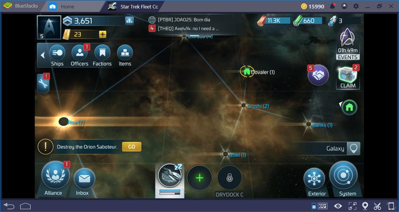 Star Trek Fleet Command Yeni Başlayanlar Rehberi
