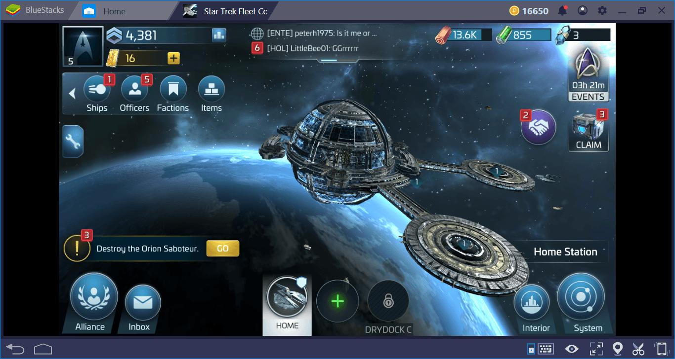 Star Trek Fleet Command Kaynak ve Binalar Rehberi