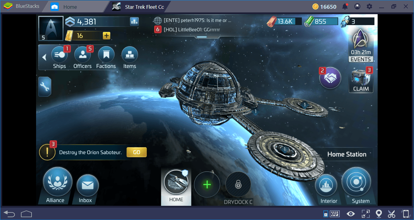 Star Trek Fleet Command on PC: Resource And Buildings Guide