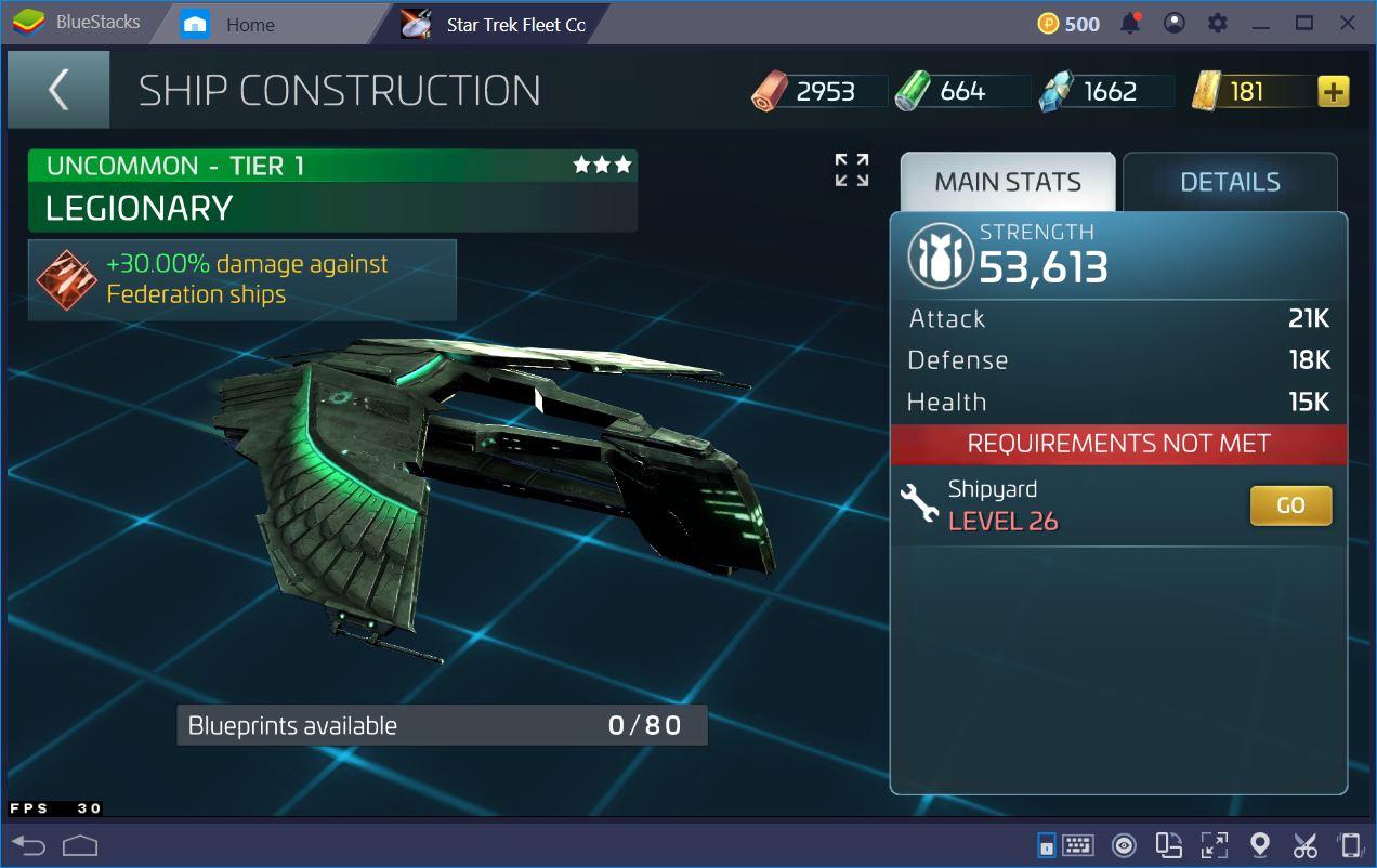 Star Trek Fleet Command على جهاز الكمبيوتر: دليل لأفضل سفن الألعاب المبكرة
